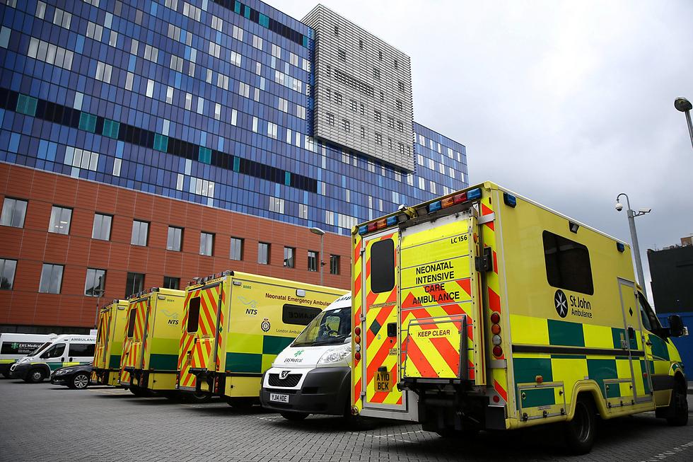 אלפי מטופלים נפגעו בגלל מתקפת הסייבר בבתי החולים (צילום: רויטרס)