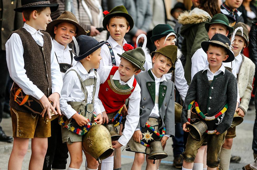 פסטיבל גאונר השנתי באוסטריה (צילום: רויטרס)