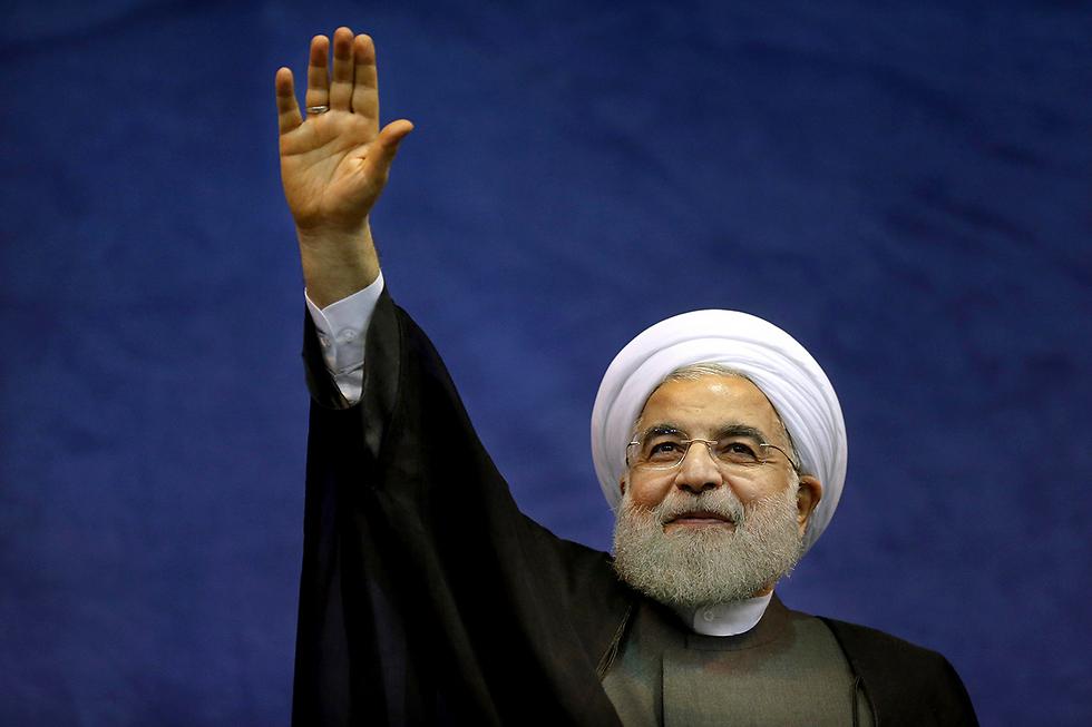 חסן רוחאני (צילום: AP)