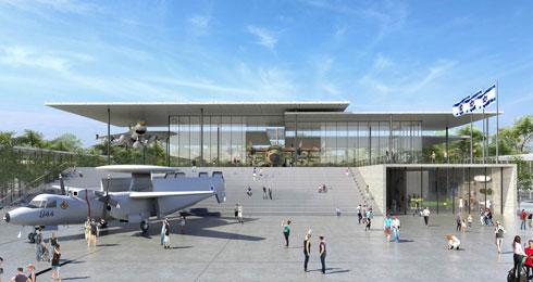 """ההצעה של """"זיו קדמי אדריכלים"""" זכתה בציון לשבח (הדמיה: באדיבות משרד הביטחון)"""