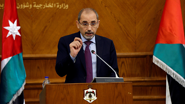 Jordanian FM Safadi (Photo: Reuters)
