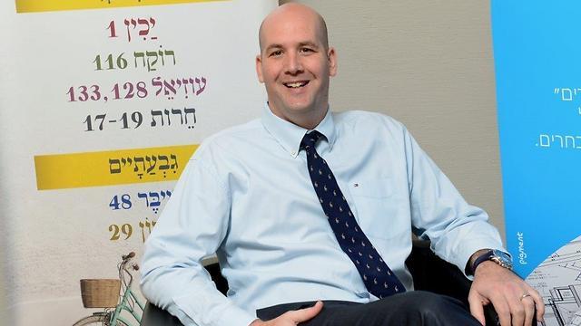 """אסף סימון, מנכ""""ל אפריקה ישראל (צילום: אירנה קוסטינסקי) (צילום: אירנה קוסטינסקי)"""
