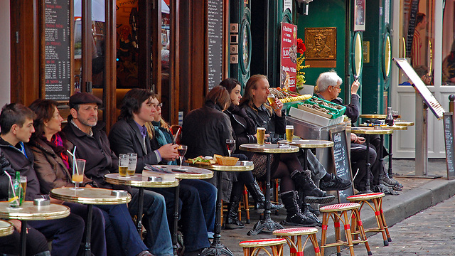 ליהנות מכל העולמות. פריז (צילום: ליאור קורן)