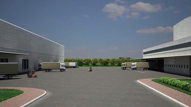 הדמיית מרכז האספקה המאוחד (צילום: דוברות משרד הביטחון) (צילום: דוברות משרד הביטחון)