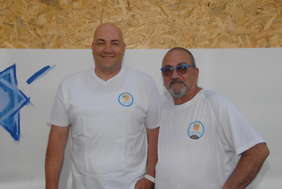 דורון שוורץ וערן בורג (צילום: אריק מור)