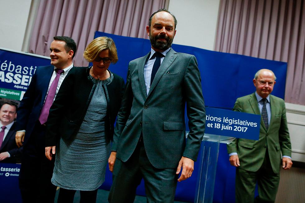 ראש ממשלת צרפת הבא. אדואר פיליפ (צילום: AFP)
