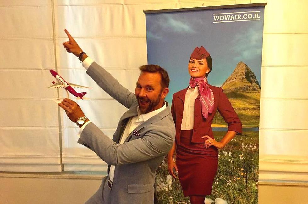 """מנכ""""ל והבעלים של WOW air סקולי מוגנסן (צילום: דני שדה) (צילום: דני שדה)"""