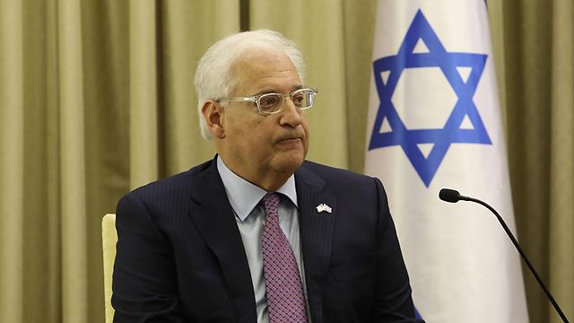 U.S. Ambassador David Friedman (Photo: Noam Rivkin Panton)