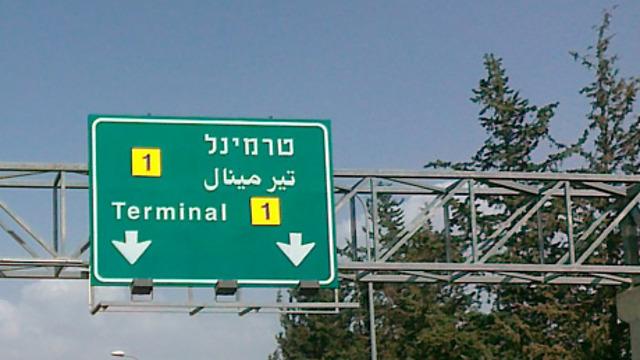 טרמינל 1. ושוב איתכם (צילום: יואב גלזנר)