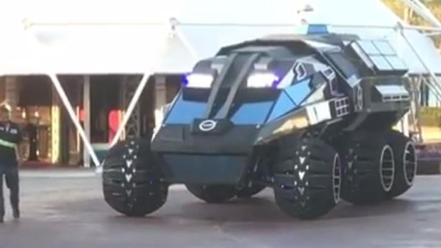 """לא יגיע למאדים. הרכב של נאס""""א (צילום: מתוך אינסטגרם)"""
