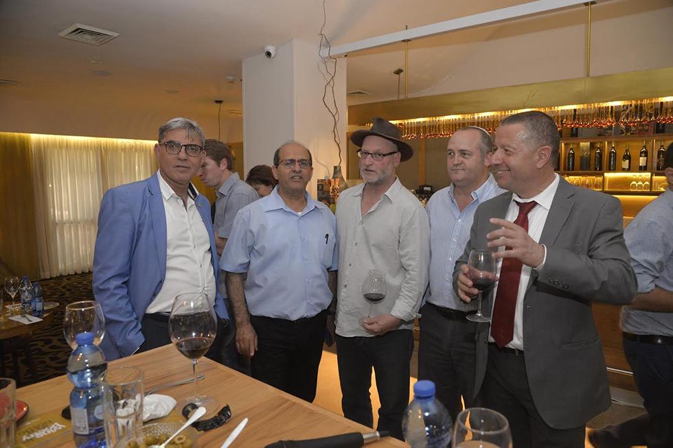 גיל צפריר, ארז וינר, סם סורוקה, עופר גואטה ומאיר תורג'מן (צילום: ששון תירם)