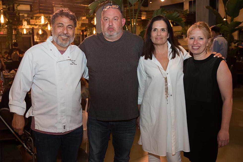 קרן קורץ, טליה פורת, הראל ויזל וחיים כהן (צילום: אנדריי קרוצ'יני)