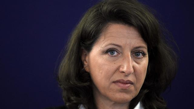 """בת של ניצול שואה. ד""""ר אנייס בוזין, שרת הבריאות של צרפת (צילום: AFP)"""