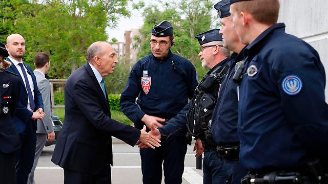 שר הפנים הצרפתי ז'ראר קולומב (צילום: AFP)
