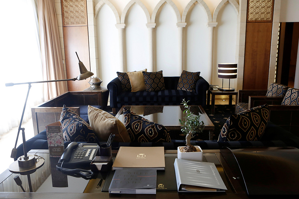 Inside the suite (Photo: Reuters)