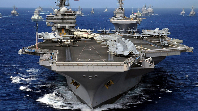 The USS Ronald Reagan (Photo: EPA)