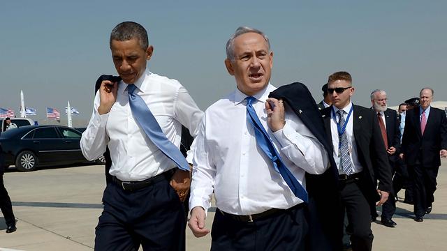 Обама и Нетаниягу. Фото: Ави Охаюн, ЛААМ