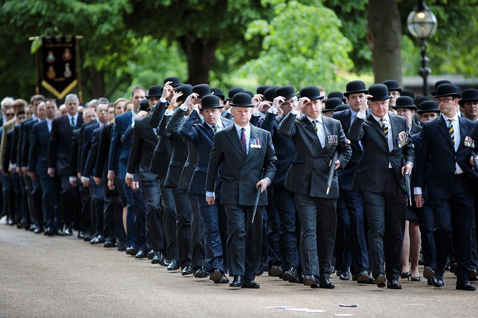 מצעד הפרשים השנתי בהייד פארק, לונדון (צילום: gettyimages)