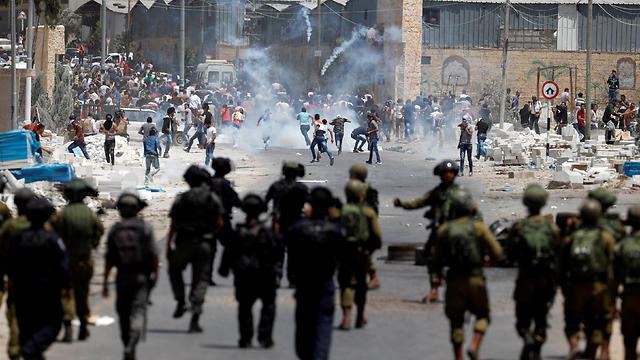 West Bank riots (Photo: Reuters)