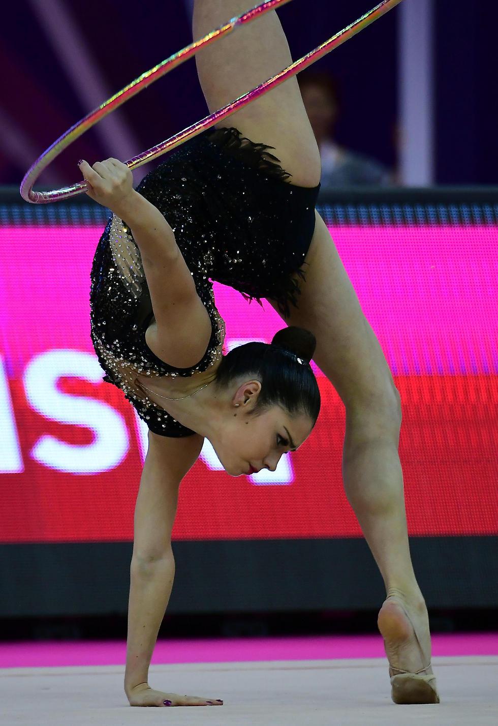 טורי פילנובסקי היום בתחרות (צילום: AFP)