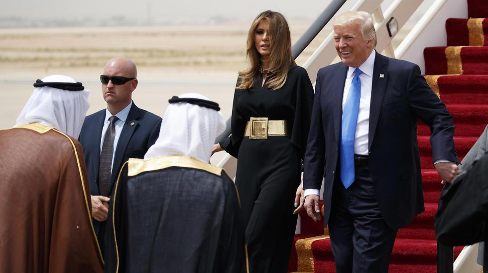 Супруги Трамп в Эр-Рияде. Фото: AP