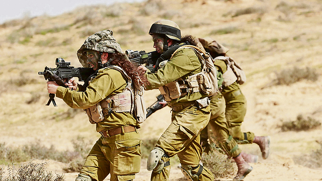 Number of women joining IDF's coed battalions reached record high in 2017