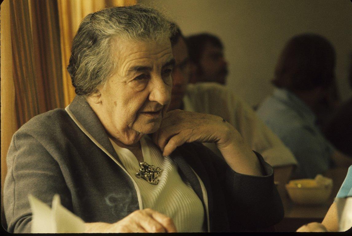 Голда Меир. Фото: Давид Рубингер