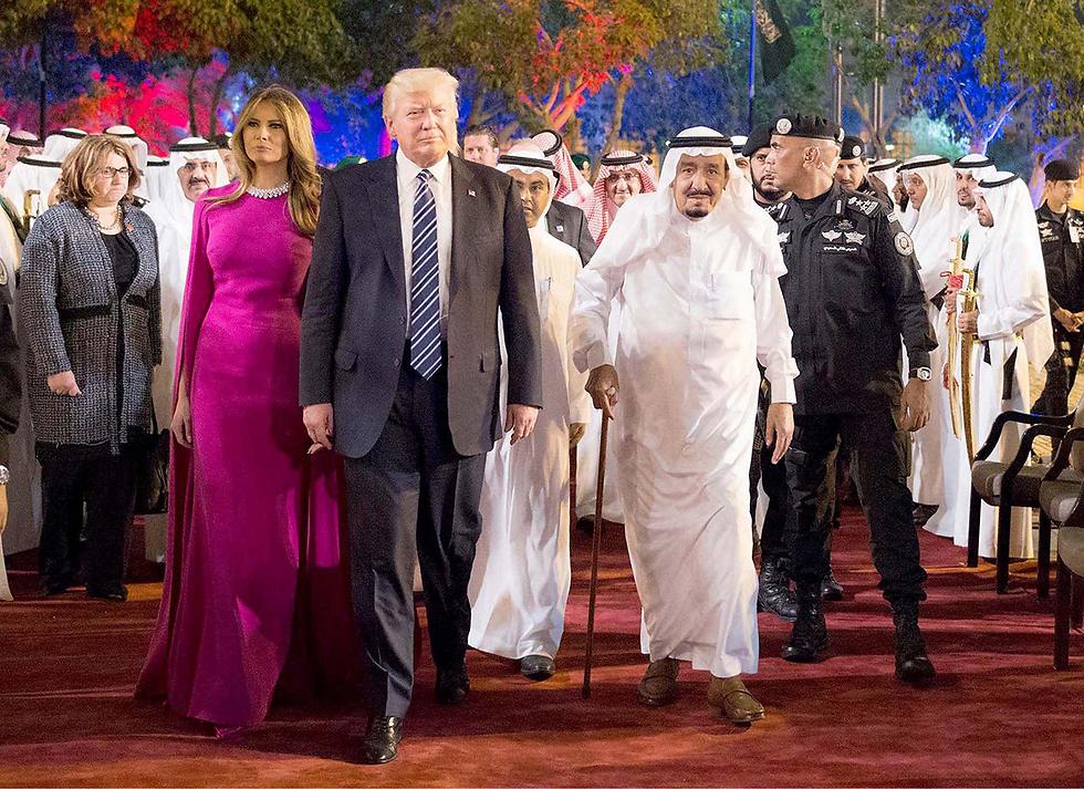 Первая леди США в Саудовской Аравии. Фото: EPA