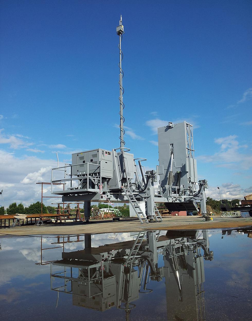 מערכת ברק 8 (צילום: התעשייה האווירית) (צילום: התעשייה האווירית)
