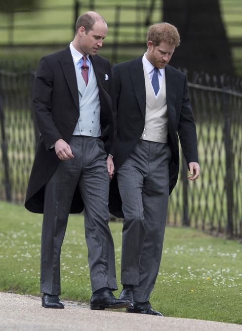 הנסיכים הארי ו-וויליאם. חיזוק ממקור בלתי צפוי (צילום: Gettyimages)