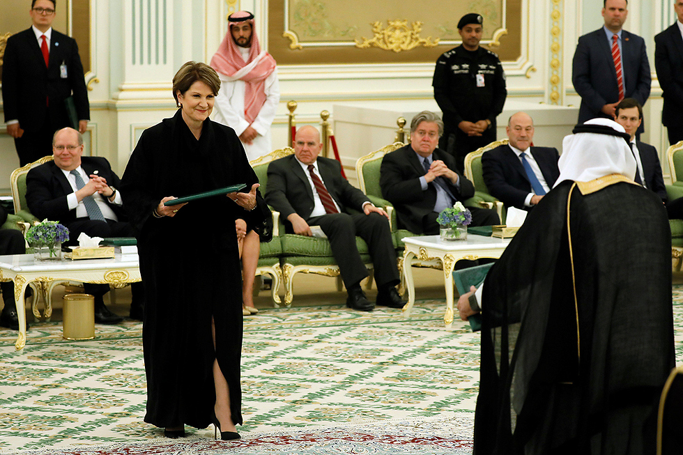 Lockheed Martin CEO warmly welcomed in Saudi (Photo: Reuters)