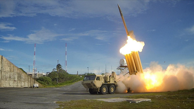The THAAD missile defense system