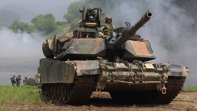M1A2 tanks (Photo: GettyImages)