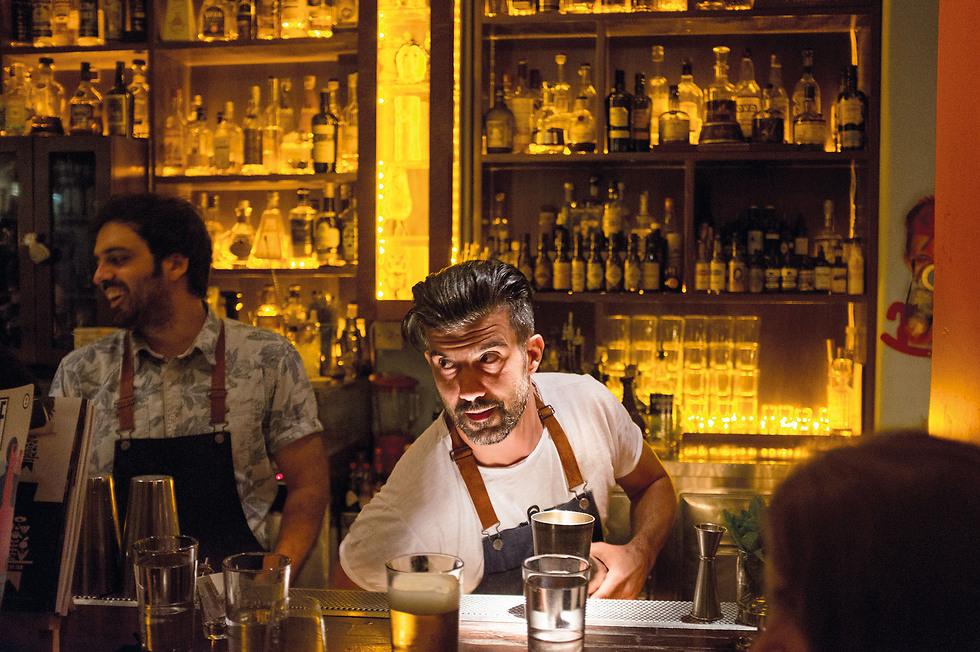 ה-Baba au Rum. שירות מעולה וקוקטיילים משובחים (צילום: אורון ולנה)