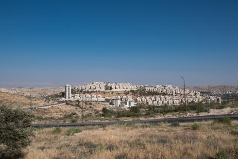 דוגמה מדכאת לבנייה נטולת השראה ופשר. הר חומה (צילום: ליאור גרונדמן)