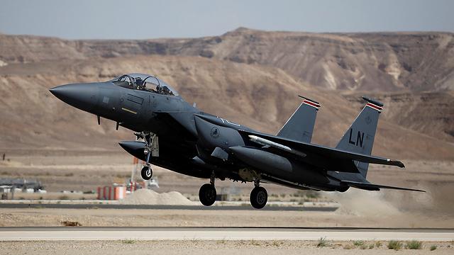 אף-15 של חיל האוויר האמריקני (צילום: רויטרס) (צילום: רויטרס)
