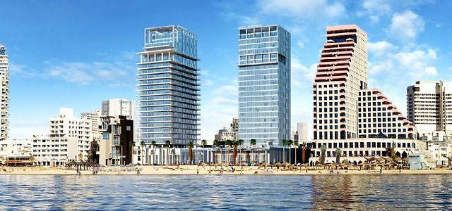 הפרויקט שנשרף בתל אביב (הדמיות: קמפינסקי)