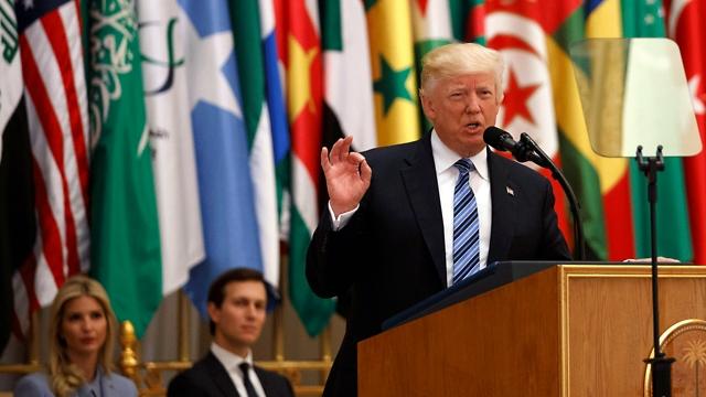 Выступает Дональд Трамп. Фото: АР