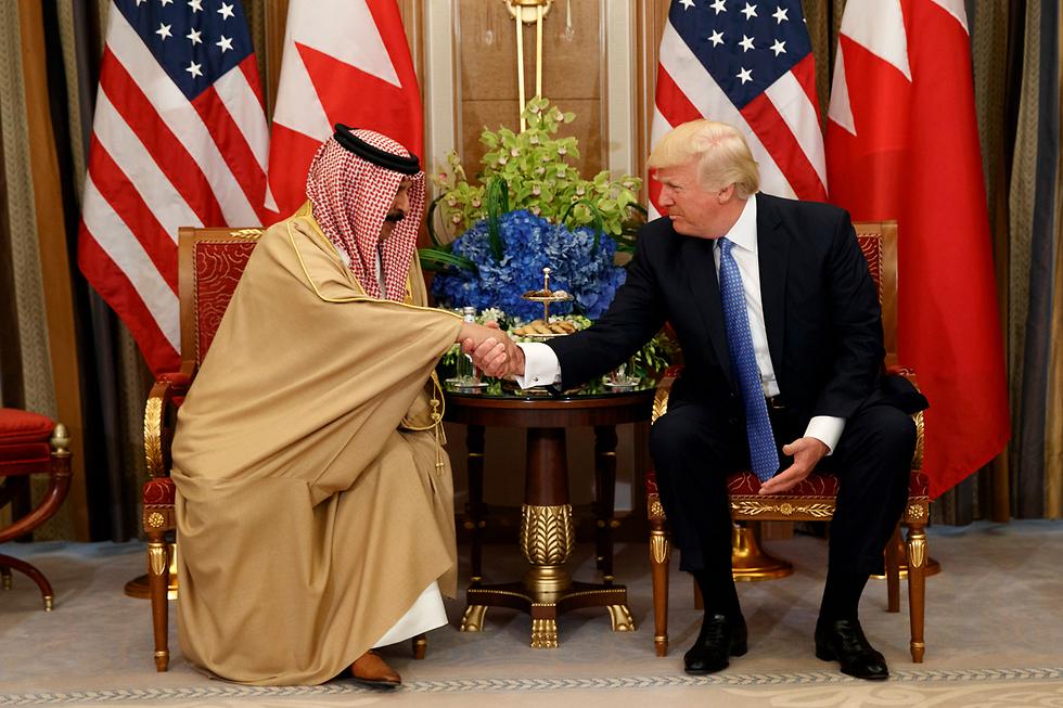 Trump in his visit to Saudi Arabia (Photo: AP)