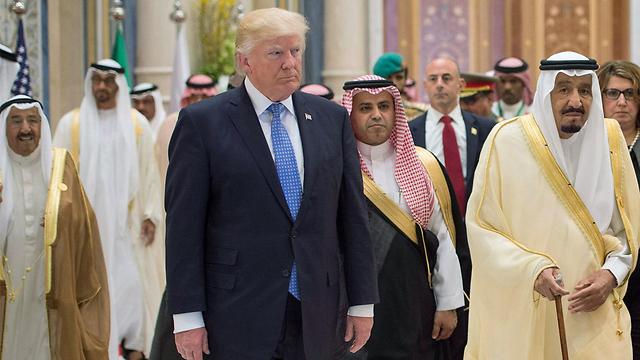 Визит Трампа в Саудовскую Аравию. Фото: EPA