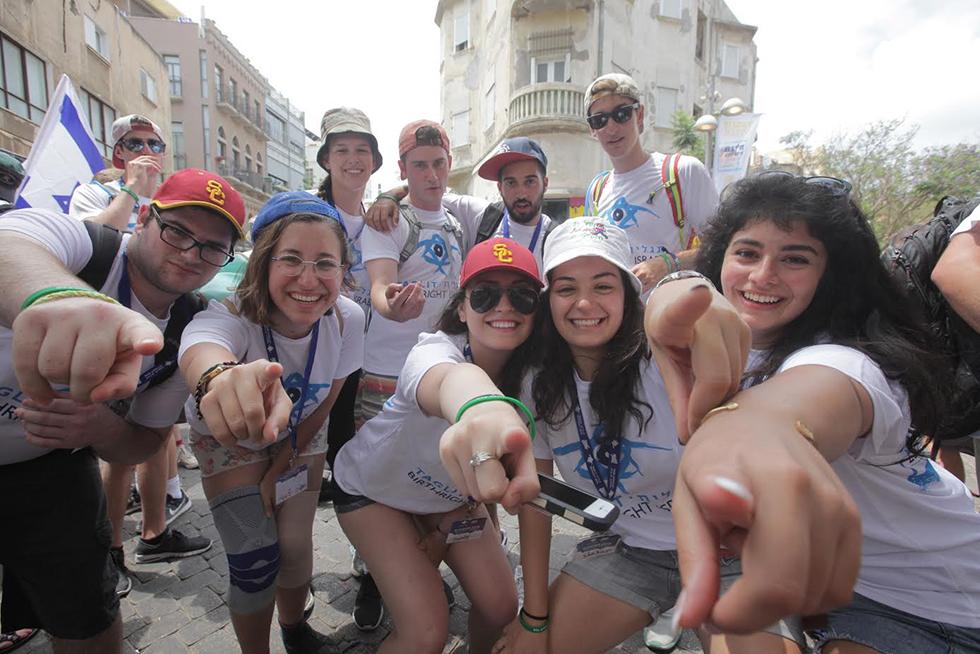Participants of Taglit-Birthright project (file photo) (Photo: Erez Uzir)