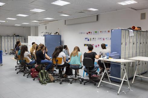 בית הספר לאדריכלות של אוניברסיטת תל אביב. מצטופף והולך (צילום: דור נבו)