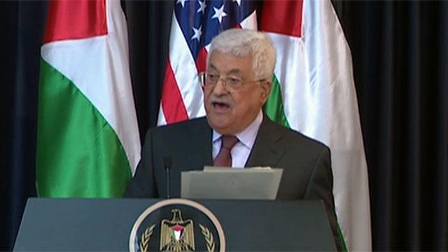 """יו""""ר הרשות הפלסטינית, אבו מאזן. """"הוא רוצה להתיש אותנו"""" ()"""