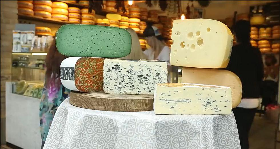 גבינות ב-לה פרומג'רי (צילום: ירון ברנר)
