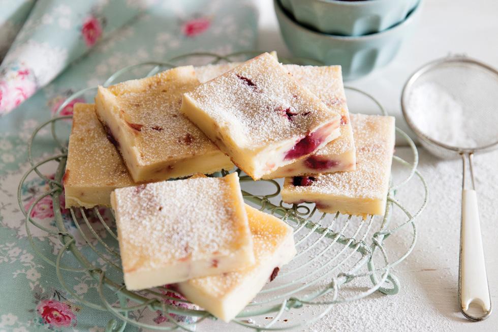 ריבועי גבינה ופטל (צילום: יוסי סליס, סגנון: נטשה חיימוביץ')