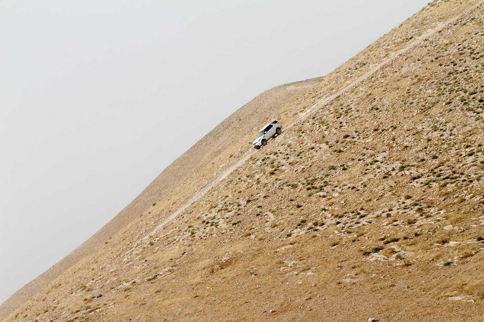 צלח בקלילות ראויה לציון את מסלול הסטרבה - מסגה מאתגרת המשקיפה על בקעת הירדן המדברית. דיסקברי 2017 (צילום: רונן טופלברג)