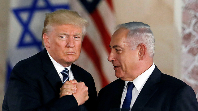 US President Trump and Prime Minister Netanyahu. Considering the fact that the US has a mutual defense treaty with a country like Montenegro, the absence of a treaty with Israel seems anomalous (Photo: Reuters)