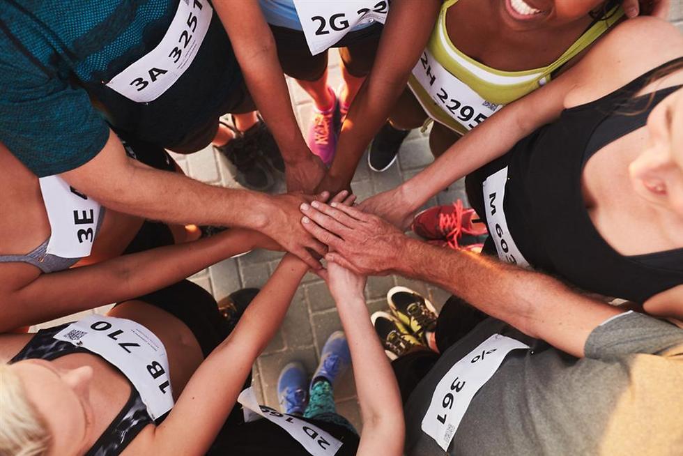 מפעילויות הספורט היותר חברתיות. קבוצת ריצה ()
