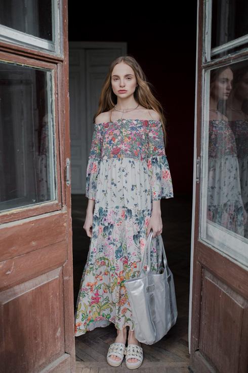 תציג לראשונה בשבוע האופנה. קולקציה של לארה רוסנובסקי (צילום: ליה גולדמן)