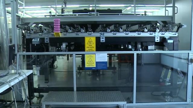 Quantum AOI, מכונה לבדיקת מסכים (צילום: אורבוטק) (צילום: אורבוטק)
